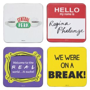Set Of Four Quote Coasters