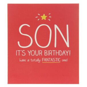 Son Totally Fantastic One Birthday Card