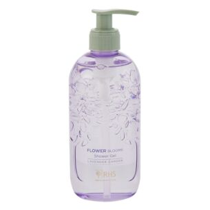 RHS Flower Blooms Lavender Garden Shower Gel