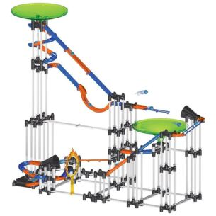 197 Piece Mechanical Marble Run Game