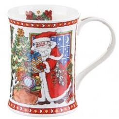 It's Christmas - Window With Moon Cotswold shape Mug
