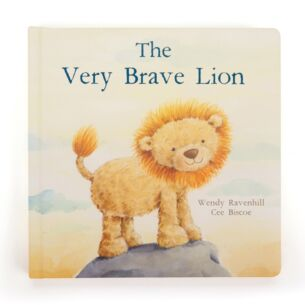 The Very Brave Lion Hardback Book