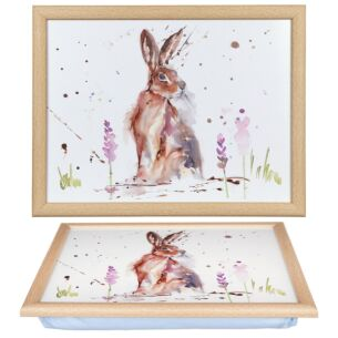 Country Life Hare Lap Tray