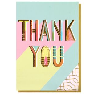 Louise Tiler 'Thank You' Greeting Card