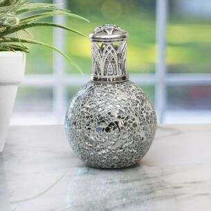 """""""Desire Aroma"""" Air Purifying Fragrance Lamp - Silver Mosaic"""