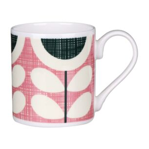 Pink Scribble Sunflower Standard Mug