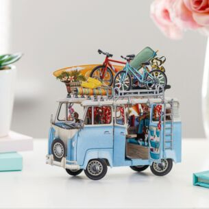 'The Camper Van' 3D Card