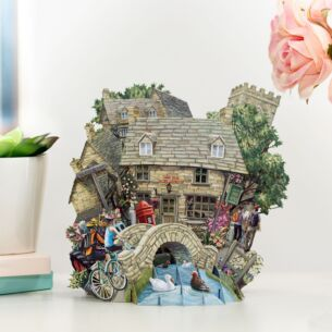 """The Cotswolds"" 3D Card"