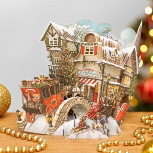 What The Dickens! 3D Christmas Card