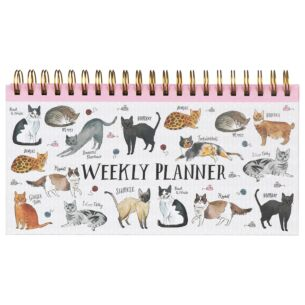 Curious Cats Weekly Planner