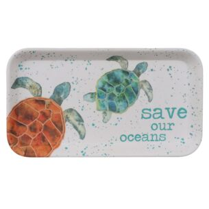 Turtle Bamboo Tray