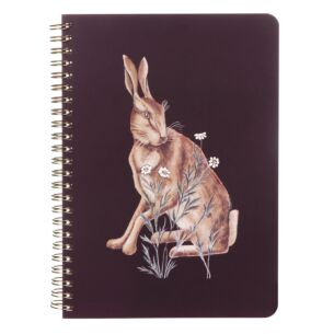 Forest Hare A5 Notebook
