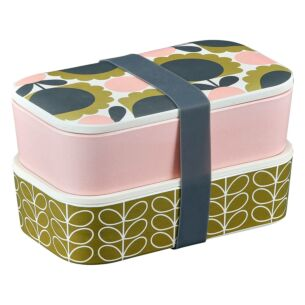 Scallop Flower Forest 2 Tier Lunch Box