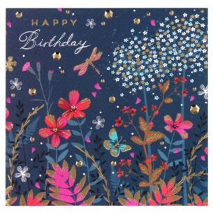 Emerald Meadow Birthday Card