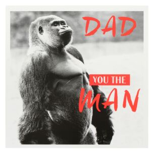 You the Man Father's Day Card