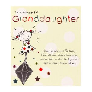 Tinklers 'To A Wonderful Granddaughter' Birthday Card