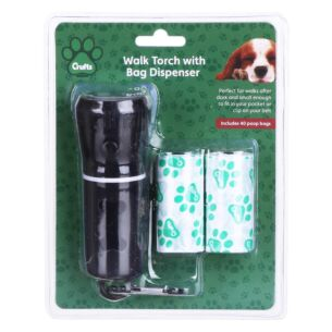 LED Torch with Doggy Bag Holder