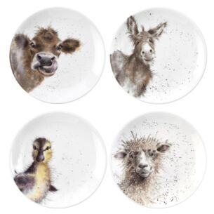 6.5 Inch Coupe Plates from Royal Worcester - Set of 4