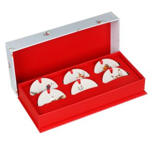 Christmas Decorations Set of 6 From Royal Worcester
