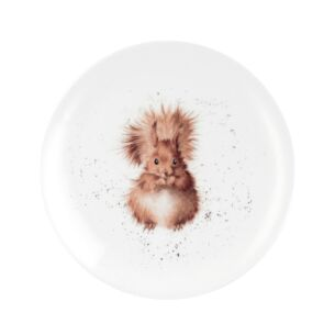 Squirrel 8 Inch Coupe Plate from Royal Worcester