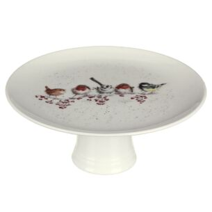'One Snowy Day' Christmas Cake Stand