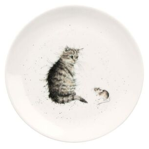 Cat 8 Inch Plate from Royal Worcester