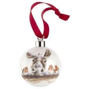 The Christmas Donkey Christmas Bauble from Royal Worcester
