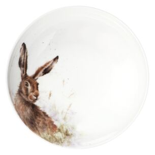 8.6'' Coupe Bowl Hare From Royal Worcester