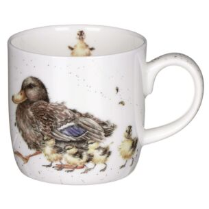 'Room for a Small One' Ducks Mug from Royal Worcester