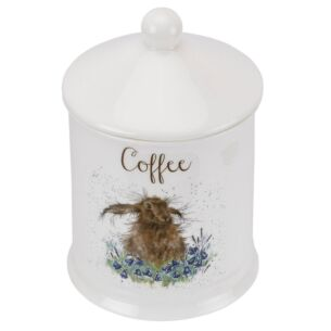Hare Coffee Canister From Royal Worcester
