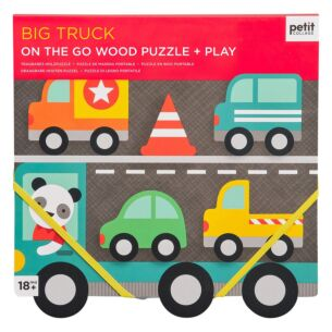 'Big Truck' Wooden Puzzle & Play