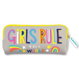 Girls Rule the World Pencil Case