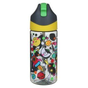 Space Drink Bottle with Straw