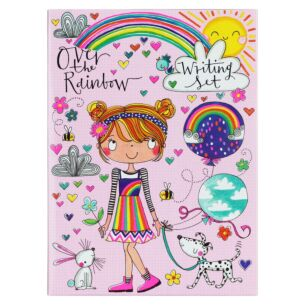 Over The Rainbow Writing Wallet