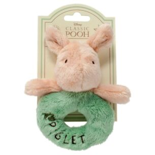 Hundred Acre Wood Piglet Ring Rattle