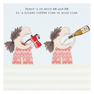 Rosie Made A Thing 'Wine Time' Lockdown Card