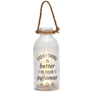 'In Your Pyjamas' LED Stars In A Bottle