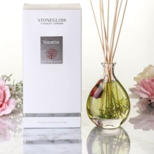 Nature's Gift Red Rose Reed Diffuser