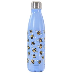 Blue Bumblebees 500ml Thermal Drinks Bottle