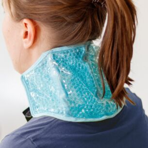 Blue Hot & Cold Neck Wrap