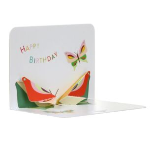 Butterfly Happy Birthday 3D Card