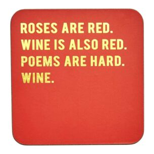 Cloud Nine 'Roses are Red' Coaster