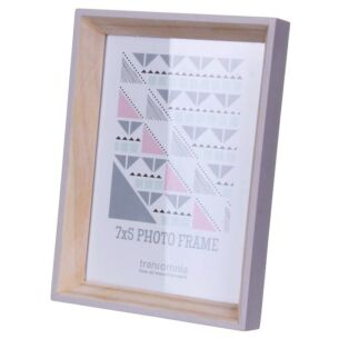 Helsingborg 7x5 Wooden Painted Lilac Photo Frame