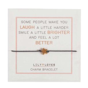 Lily Loves 'Some People' Charm Bracelet