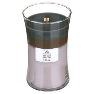 Cozy Cabin Large Trilogy Candle
