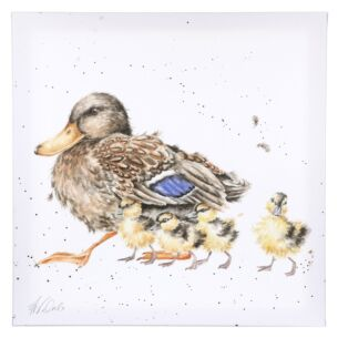 'Room For A Small One' Ducklings Large Canvas