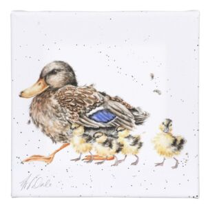 'Room For A Small One' Ducklings Small Canvas