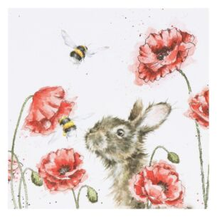 'Let It Bee' Rabbit Card
