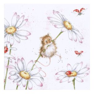 'Oops A Daisy' Mouse Card