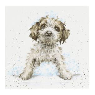 'Bubbles and Barks' Dog Card